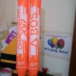 Balon Tepuk CHAMPIONS DAY BOS