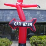 Balon Sky Dancer Car Wash