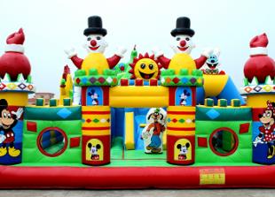 Sewa Istana Balon Circus 6 x 8 meter