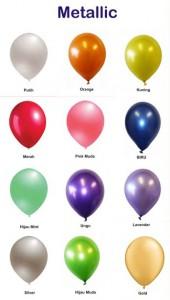 Balon Metalik