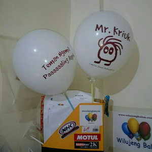 Balon Print mr kriuk